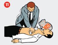 مراحل استفاده از دستگاه شوک اتوماتیک CardiAid AED