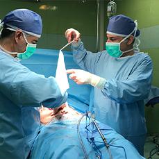 نخستین عمل درمان فتق با استفاده از مش های بيولوژيک كلاژنی در ایران
