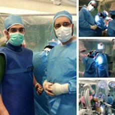 انجام اولین عمل جراحی نیل گاما در ایران