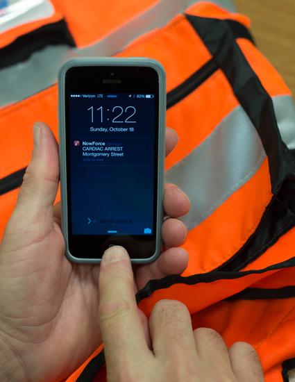راه اندازی سامانه پیامکی برای اطلاع رسانی مکان حمله ی قلبی و دستگاه دفیبریلاتور به داوطلبین امدادرسانی