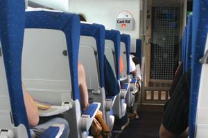 استفاده از دستگاه الکتروشوک در هواپیما
