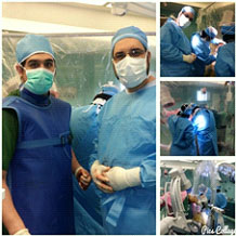 First PFNA implant surgery in Iran